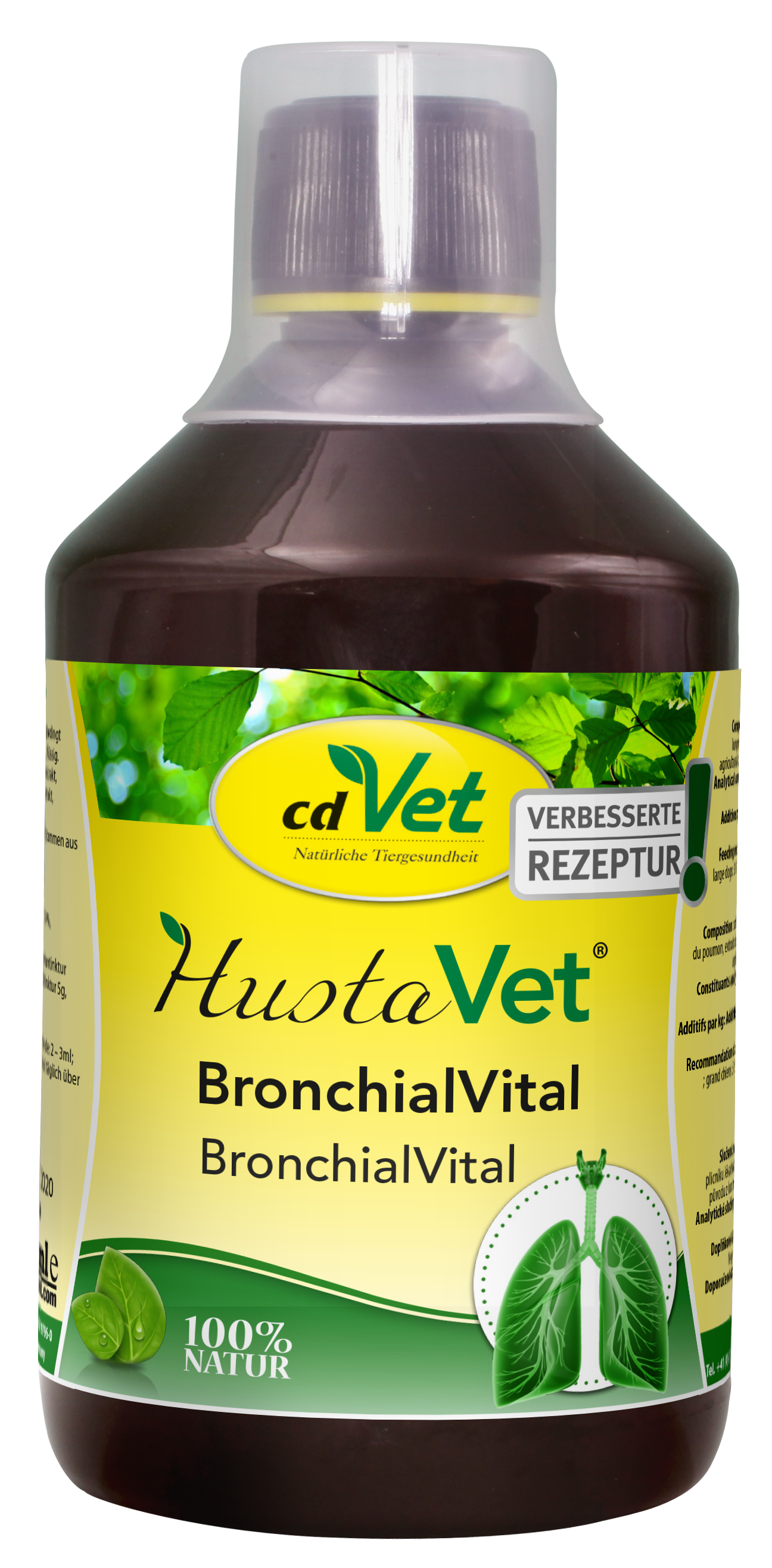 HustaVet BronchialVital 500ml