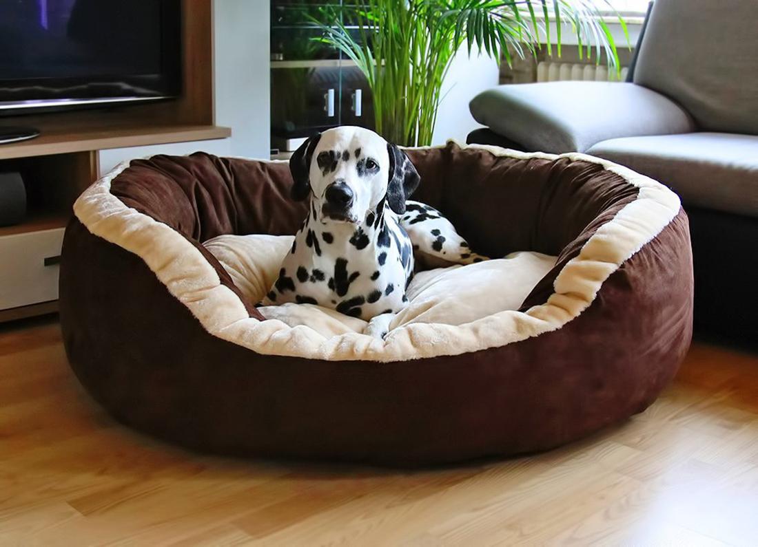 Hundebett Heaven aus Velours
