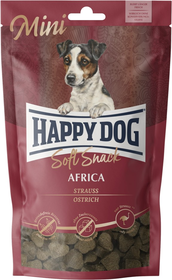 Happy Dog Snack Soft Mini Africa