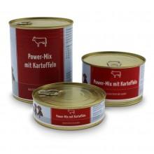 Wet Food Power-Mix mit Rindfleisch und Kartoffeln