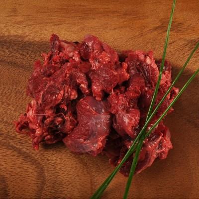 Natürliches Rindfleischhalsfleisch