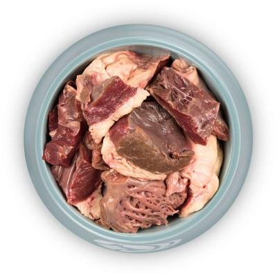 Rindfleisch Herz in Scheiben geschnitten