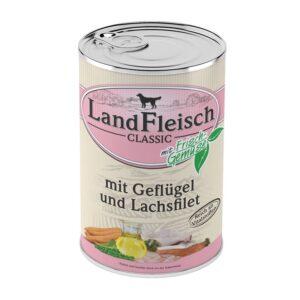 Landfleisch Dog Classic Geflügel & Lachsfilet