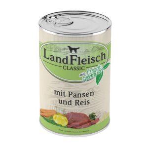 Landfleisch Dog Classic Pansen & Reis