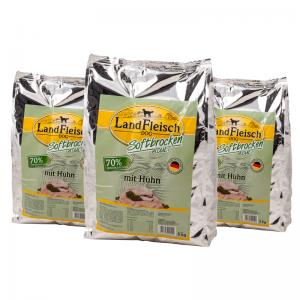 Landfleisch Softbrocken mit Huhn